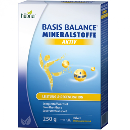 Hübner Basis Balance Mineralstoffe Aktiv (250g)