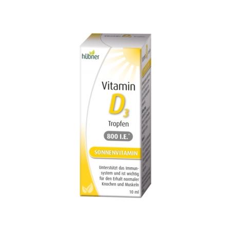 Hübner Vitamin D3 Tropfen (10ml)