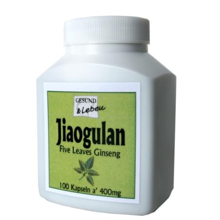 Jiaogulan Kapseln