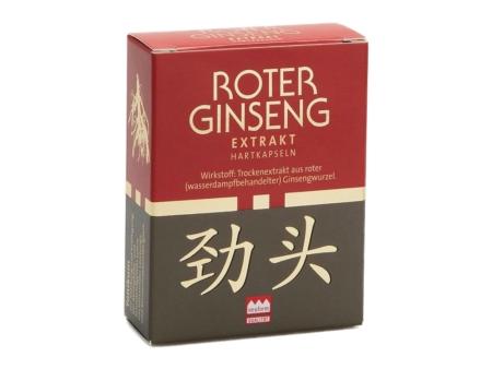KGV Roter Ginseng Pulverextrakt Kapseln (10 Stück)