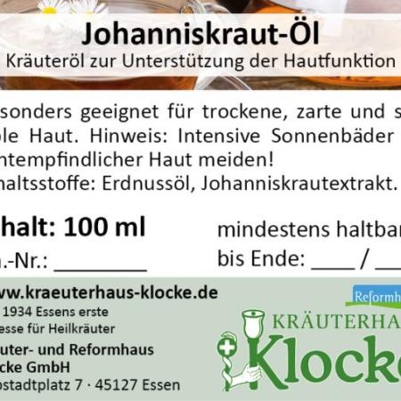 Klocke Johanniskrautoel