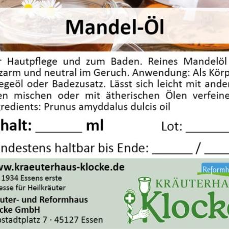 Klocke Mandelöl