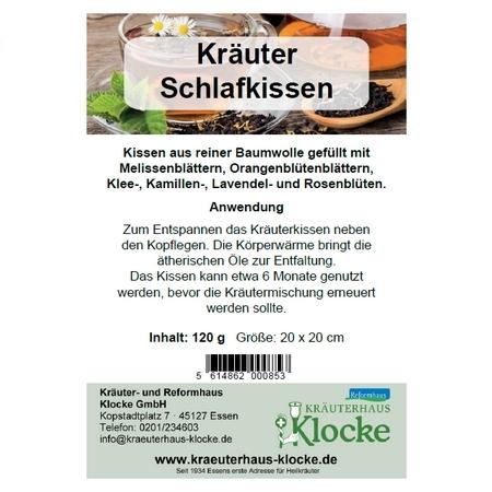 Klocke Kräuter-Schlafkissen