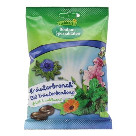 Liebharts Bio-Husten-Bonbon Kräuterbronch