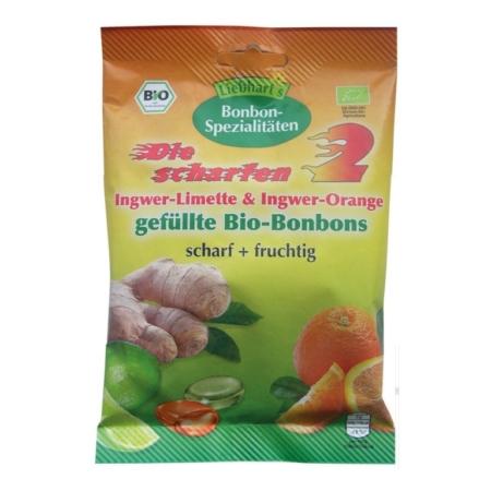 Liebharts Die scharfen 2 gefüllte Bio-Bonbons
