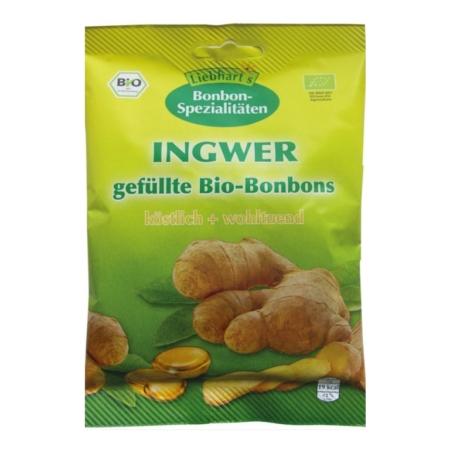 Liebharts Ingwer gefüllte Bio-Bonbons