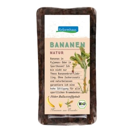 Reformhaus Bananen Streifen fruchtig-süß bio