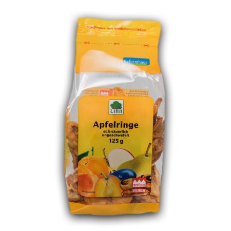 Lihn Apfelringe süß-säuerlich (125g)
