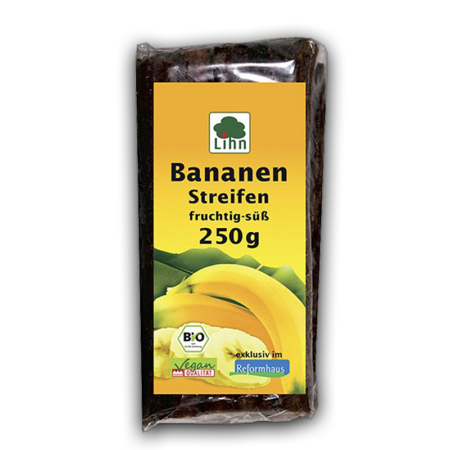 Lihn Bananen Streifen fruchtig-süß bio (250g)