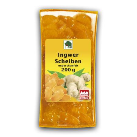 Lihn Ingwer in Scheiben (200g)
