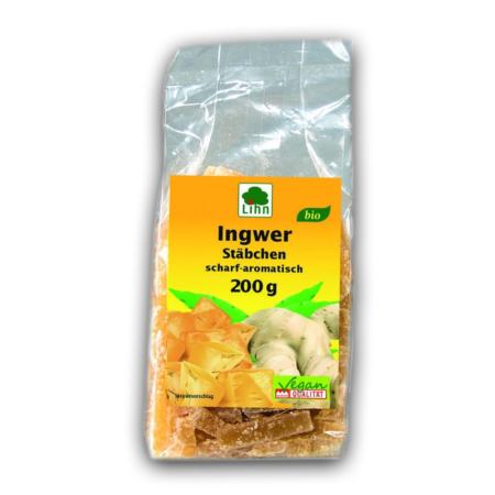 Lihn Ingwer Stäbchen bio (200g)