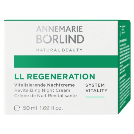 Annemarie Börlind LL REGENERATION SYSTEM VITALITY Vitalisierende Nachtcreme