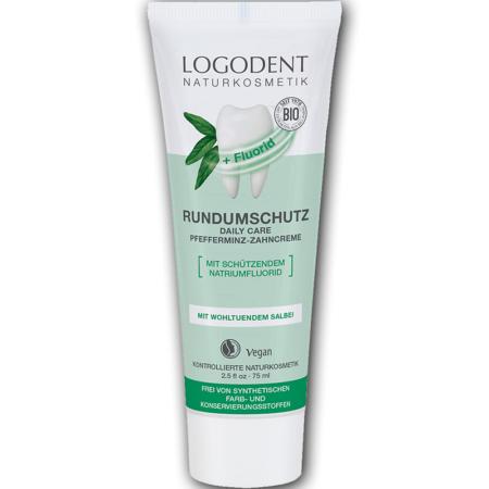 Logodent Rundumschutz Daily Care Zahncreme mit Fluorid (75ml)