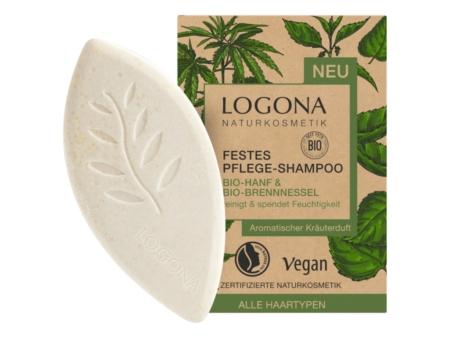 Logona Festes Pflege-Shampoo Bio-Hanf & Bio-Brennnessel