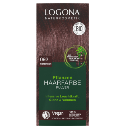Logona Pflanzen-Haarfarbe Pulver 092 rotbraun