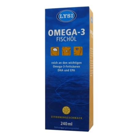 Lysi Omega-3 Fischöl