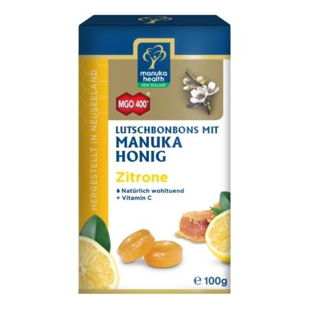 Manuka Honig Lutschbonbons mit Zitrone