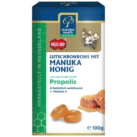 Manuka Honig MGO400 Lutschbonbons mit Propolis
