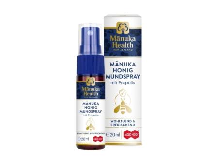 Manuka Honig & Propolis Mundspray