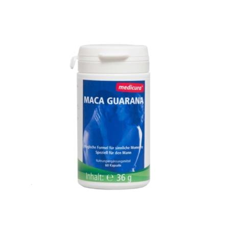 Medicura Maca Guarana Kapseln