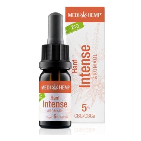 Medihemp Hanf Intense Aromaöl bio 5% (10ml)