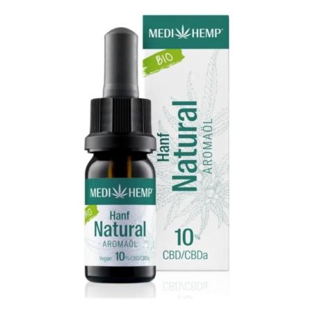 Medihemp Hanf Natural Aromaöl bio 10% (10ml)