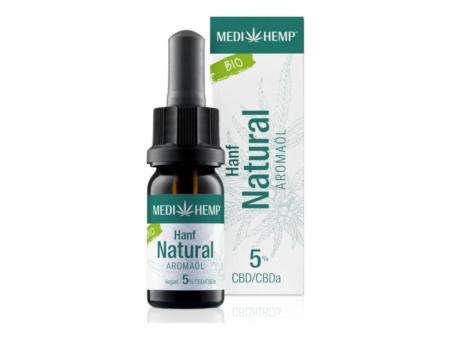 Medihemp Hanf Natural Aromaöl bio 5% (10ml)