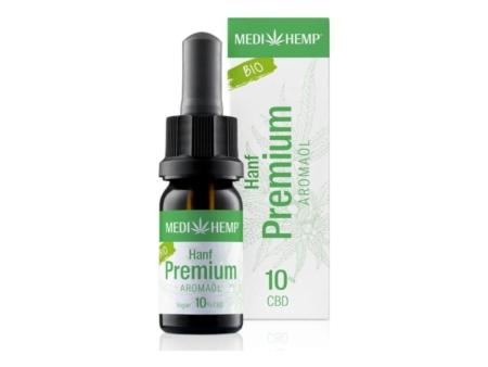 Medihemp Hanf Premium Aromaöl bio 10% (10ml)