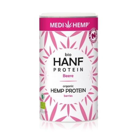 Medihemp Hanfprotein Beere bio
