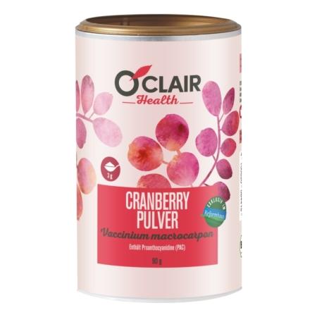 OClair Health Cranberrypulver bio