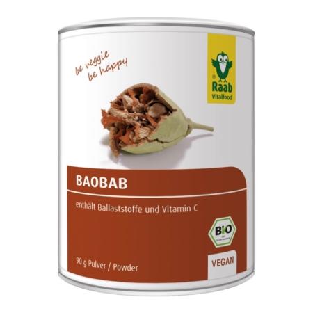 Raab Baobab Pulver bio