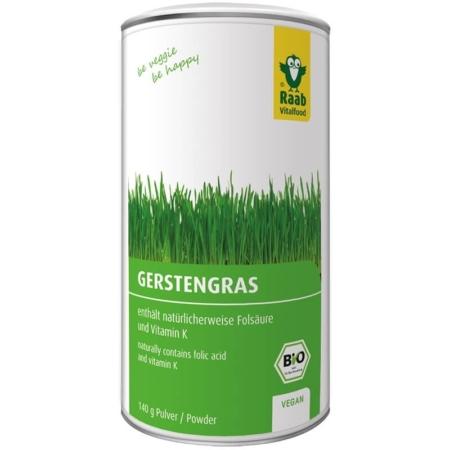 Raab Bio Gerstengraspulver (140 g)