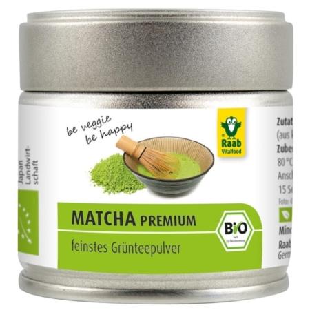 Raab Bio Matcha Grünteepulver Premium