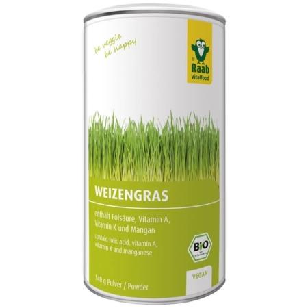 Raab Bio Weizengraspulver (140 g)