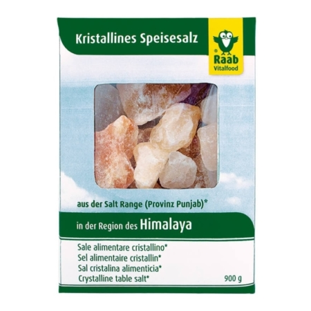 Raab Kristalline Himalaya Speisesalz Brocken