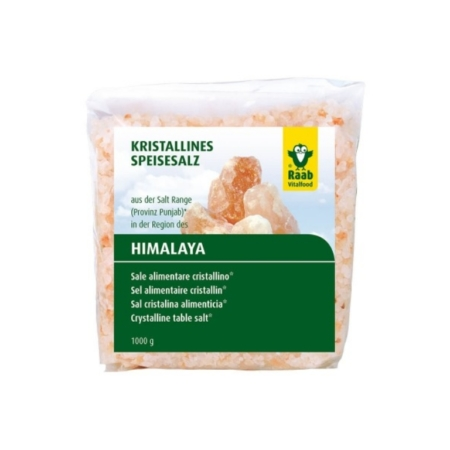 Raab Kristallines Speisesalz Granulat für die Salzmühle