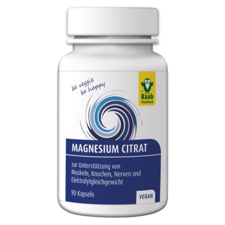 Raab Magnesiumcitrat Kapseln
