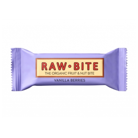 Raw Bite Bio Vanilla Berries Riegel