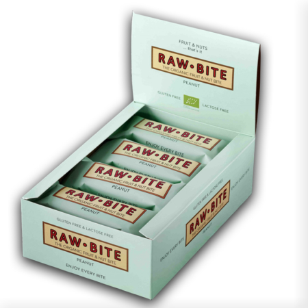 Raw Bite Bio Peanut Riegel (50g)