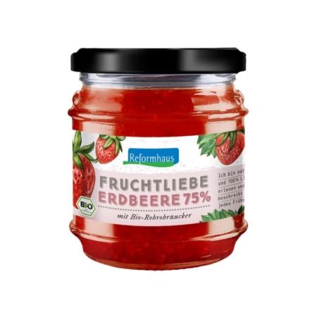 Reformhaus Fruchtliebe Erdbeere bio