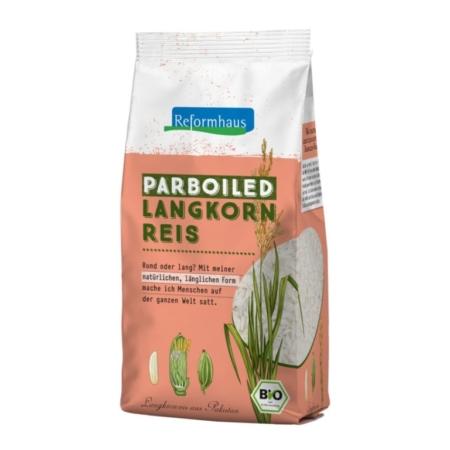 Reformhaus Parboiled Langkorn Reis bio