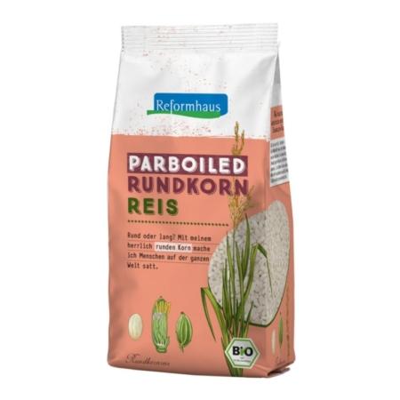 Reformhaus Parboiled Rundkorn Reis bio