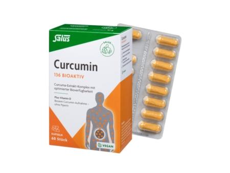 Salus Curcumin 136 Bioaktiv Tabletten (60 Stück)