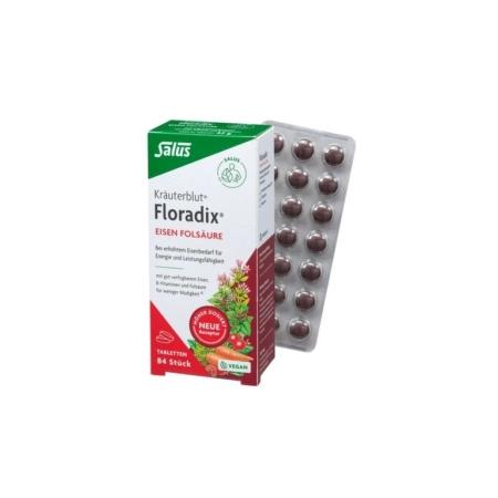 Salus Floradix Eisen-Folsäure Dragees
