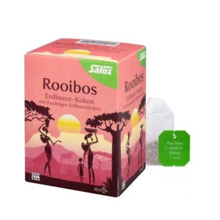 Salus Rooibos Erdbeere-Kokos Tee bio