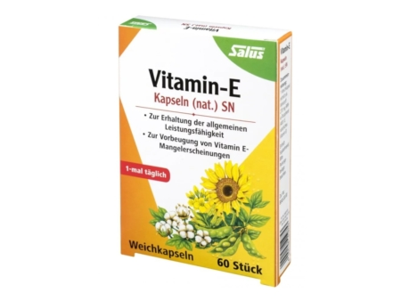Salus Vitamin-E Kapseln (60 Stück)