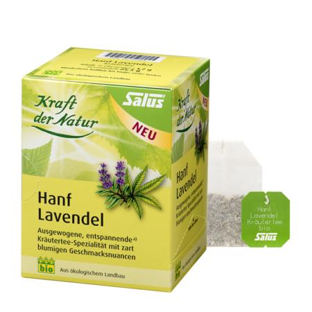 Salus Kräutertee Hanf Lavendel