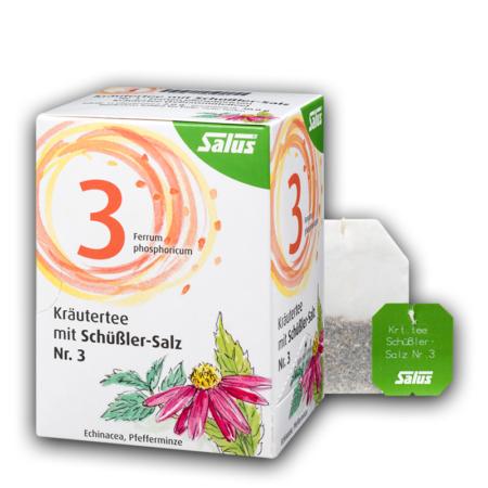 Salus Kräutertee mit Schüßler-Salz Nr 3