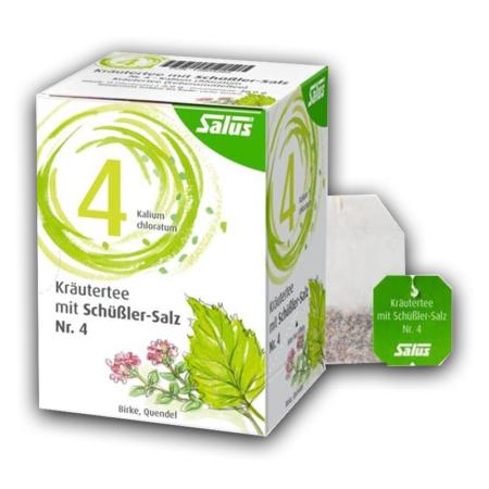 Salus Kräutertee mit Schüßler-Salz Nr 4