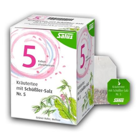 Salus Kräutertee mit Schüßler-Salz Nr 5 (15 Filterbeutel)